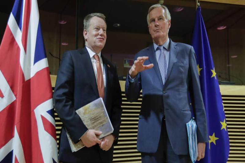 Barnier Braves Corona Virus To Make Physical Appearance In UK Over EU Stalemate