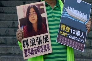 Chinese Court sentences Zhang Zhan