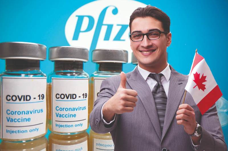 Canada joins UK & becomes latest country to approve Pfizer-BioNTech Covid-19 vaccine