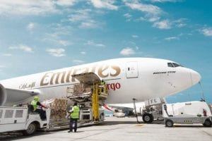 Emirates along with DHL