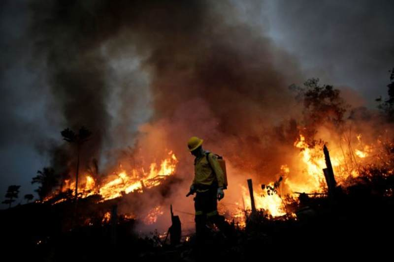 Under Brazil's Bolsonaro a surge in Amazon fire raises serious environmental concerns