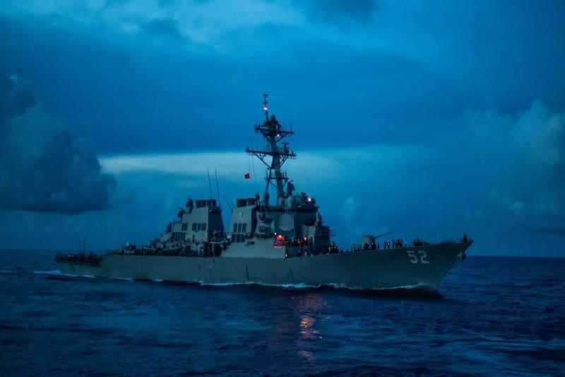 China condemns US warship sailing through Taiwan Strait