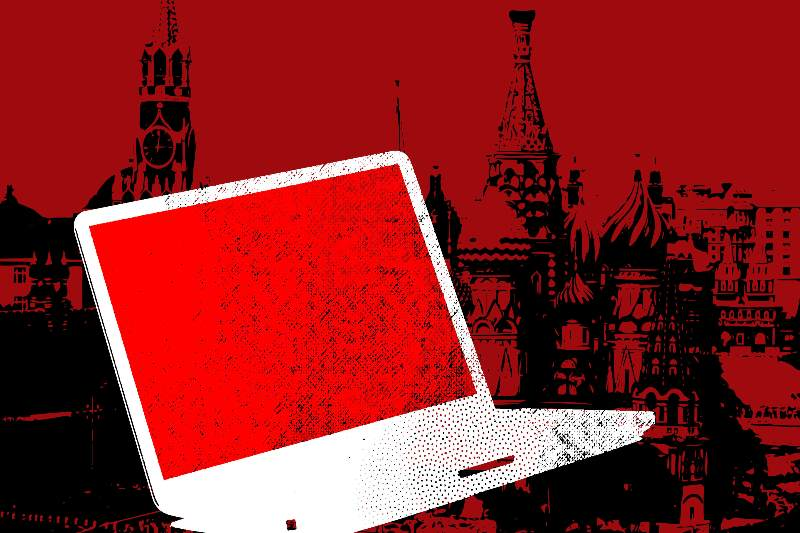 A cyberattack on the US government, perhaps from Russia