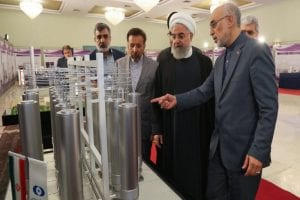 EU urges Iran to reverse its decision on uranium enrichment