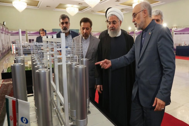 EU urges Iran to reverse its decision on uranium enrichment