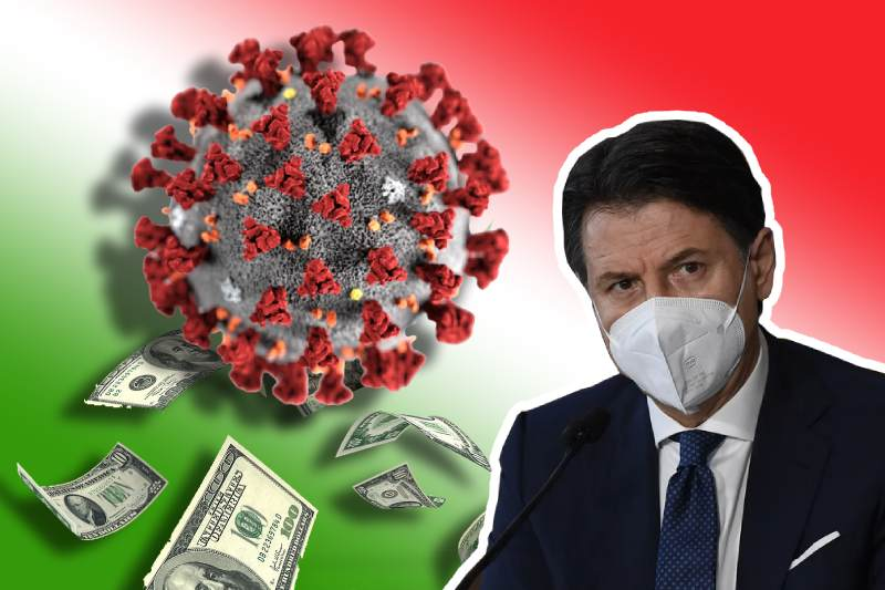 Conte's government under coercion over economic recovery plan for Italy
