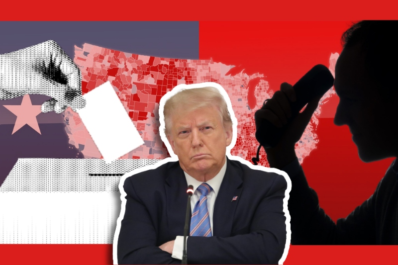 """""""Find"""" me the votes: Trump stoops to new level of desperation as he calls Georgia's Secretary of State to tilt elections"""