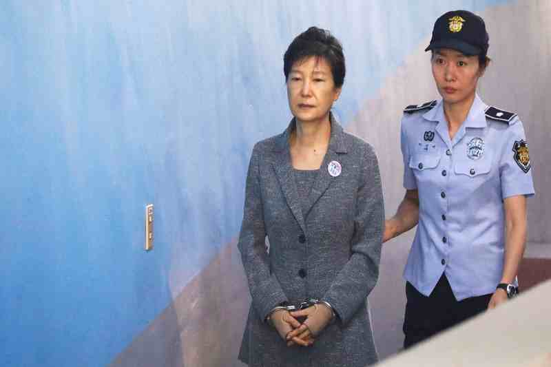 South Korea's Ex-President Park to serve 20-years in prison