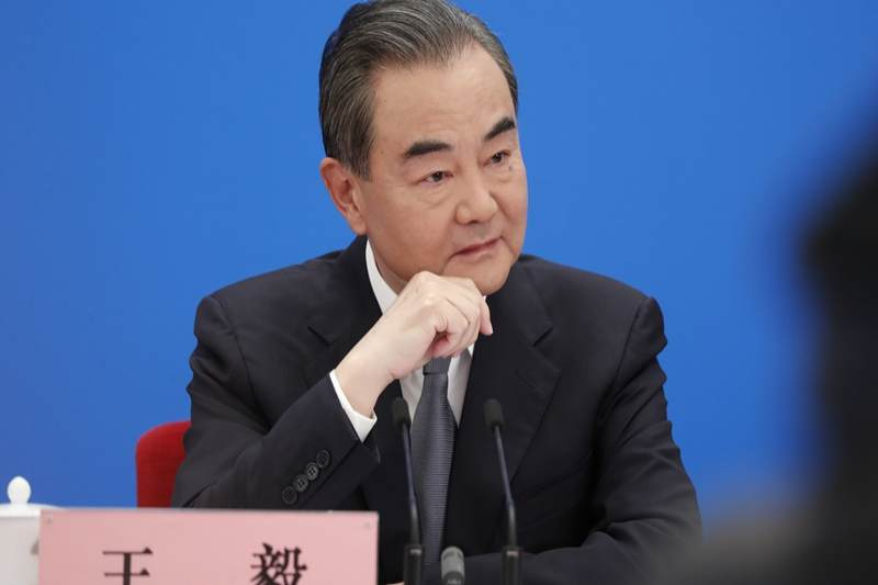 Outbreaks outside of the country may have caused Covid-19 pandemic, says China's FM Wang Yi