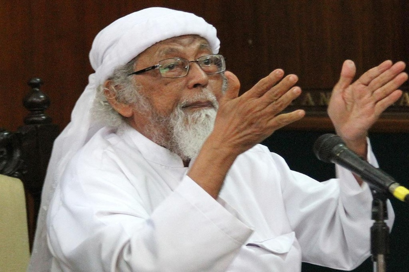 Indonesia confirms release of Abu Bakar Bashir, Islamist cleric involved in Bali bombings