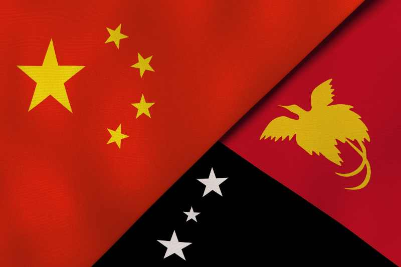 China's development projects in Papua New Guinea makes Australia anxious