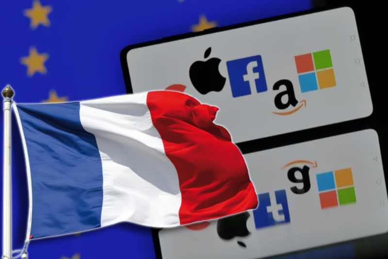France pressed the EU to adopt stricter digital law to tap big tech giants