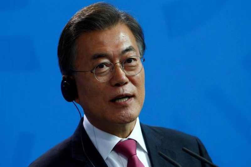 Joe Biden and Moon Jae-in pledged to boost US-South Korean relations