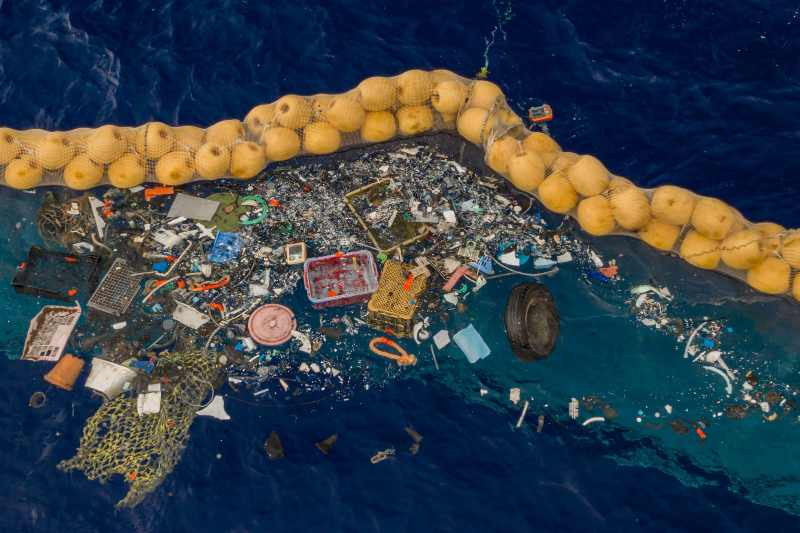 At the seabed of our oceans, there is twice as much plastic floating on the surface