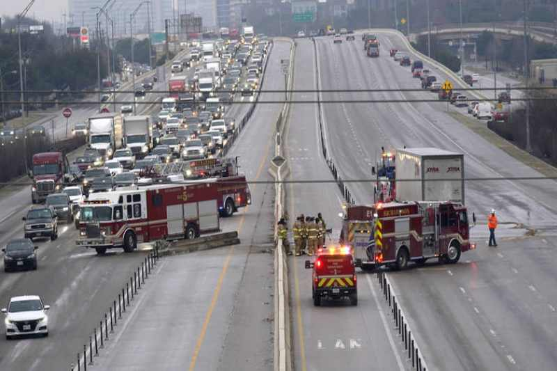 6 killed, many injured in a massive vehicle collision on the ice sheet in Fort Worth, Texas