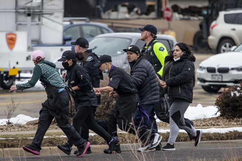 Boulder supermarket shooting in Colorado leaves 10 killed, suspect in custody