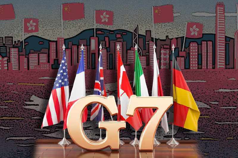 What is Hong Kong's new electoral system and why are G7 nation's concerned?