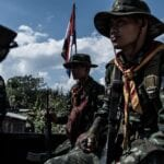 Myanmars military min 150x150 - Thousands run into Thailand in view of Myanmar air strikes