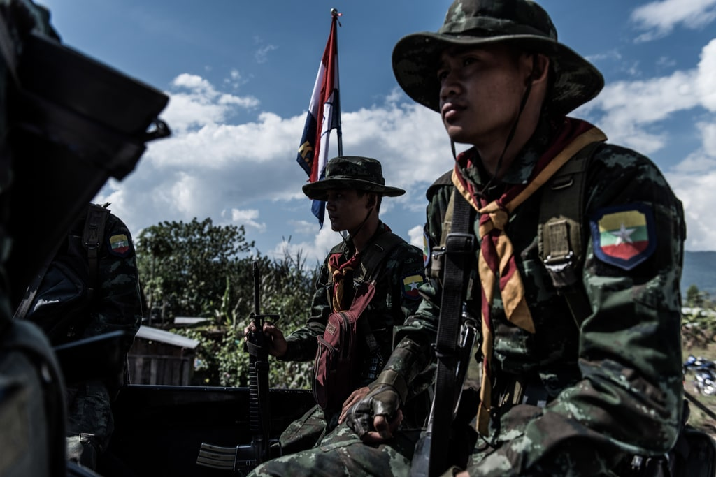 Two Myanmar military conglomerates sanctioned by US, UK