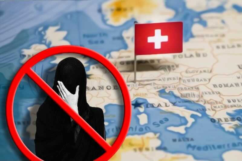 Switzerland follows suit, votes to ban the burqa and any face-covering in public