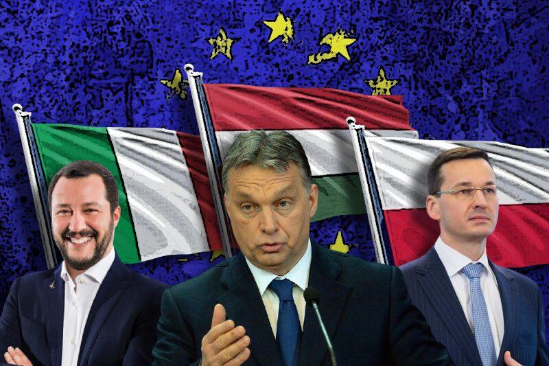 Hungary Poland and Italy Organize An Alliance