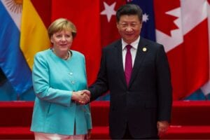 Xi Jinping suggests to Angela Merkel a geostrategic autonomy for the EU