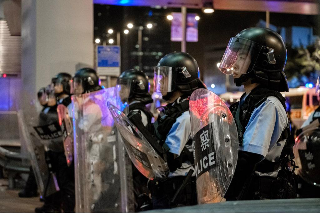 Hong Kong protest 1 min - Home