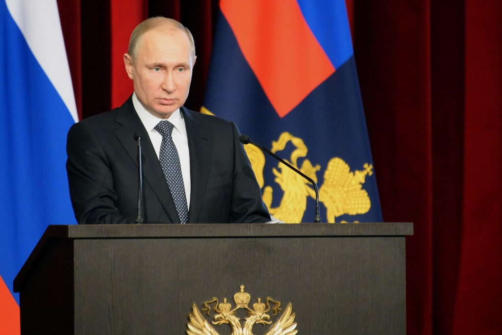 Putin warns Western powers to refrain from crossing Russia's 'red line'