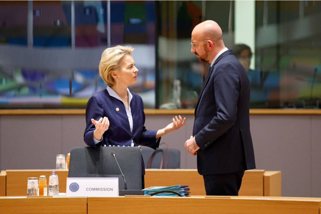 Never again, first meeting between Von der Leyen and Michel after the Sofa Gate