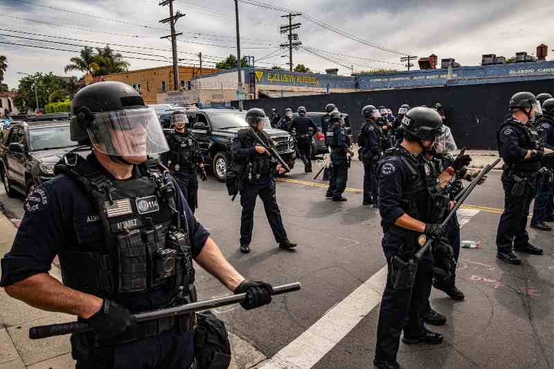 How police reform is going in the United States?