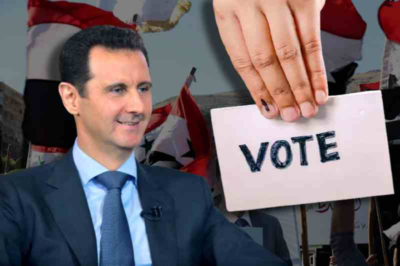 """Syria holds """"sham"""" Presidential elections that would bring Assad back to regime, dismissed by opposition"""