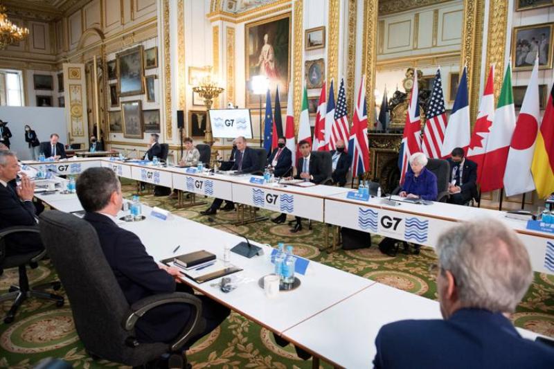 Biden administration's global tax plan gets G7 backing