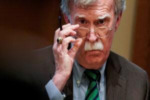 Justice Department Drops Lawsuit Against John Bolton