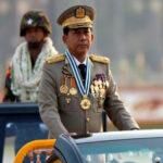 myanmar junta chief