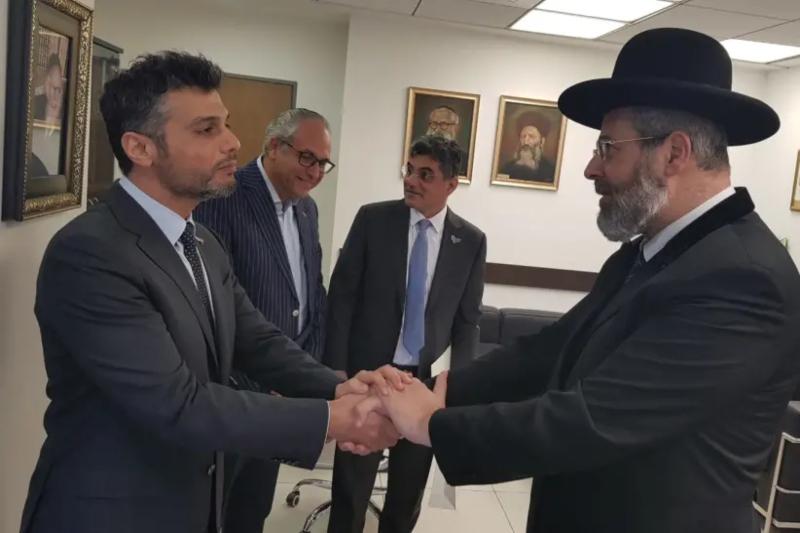 uae ambassador to israel