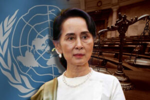 Military junta in Myanmar rejects UN chief's allegations of human rights abuse ahead of Suu Kyi's trial