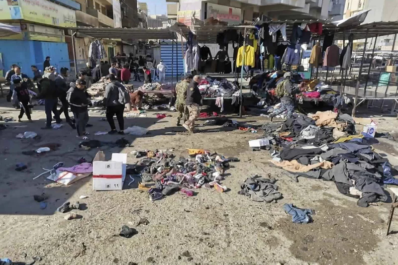 baghdad market bombing