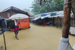 Bangladesh floods: At least six Rohingya refugees killed