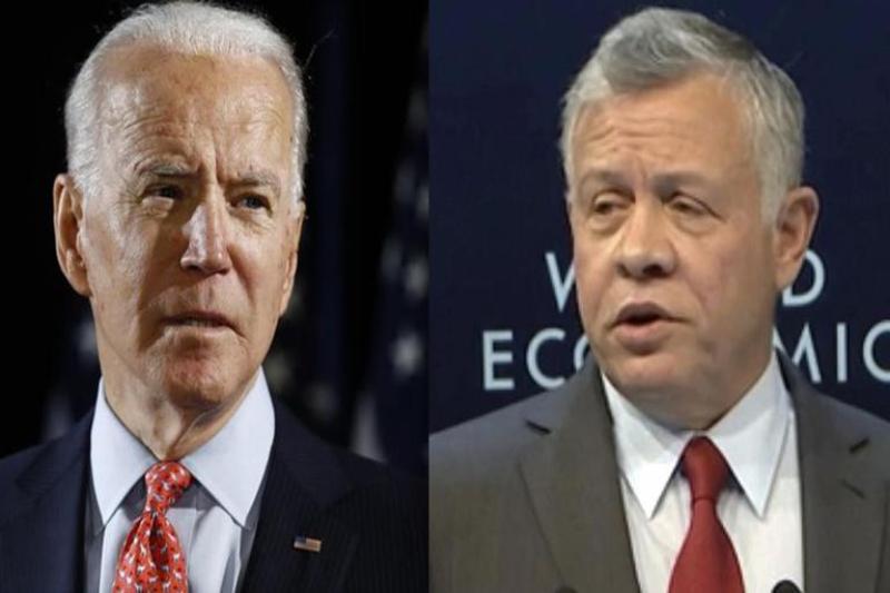 Biden all set to host Jordan's King