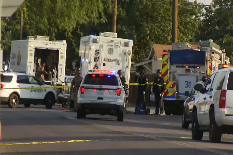 One Sheriff deputy killed and one injured during a shootout in a California home
