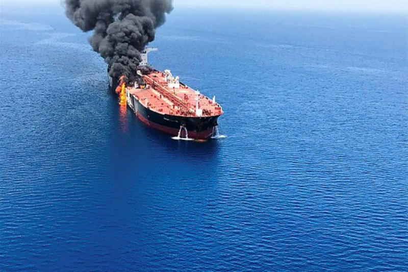 Iran Mistakes Previous Owned Israeli Cargo Ship For Missile Attack