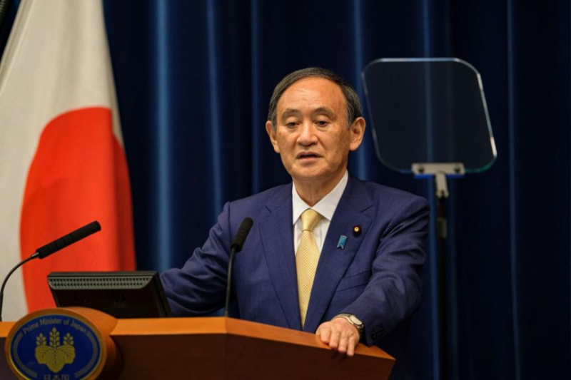 Japan PM Suga's Cabinet at a record low in nationwide survey over many issues