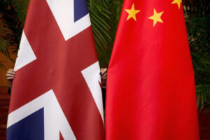 The nuclear war between the UK and China