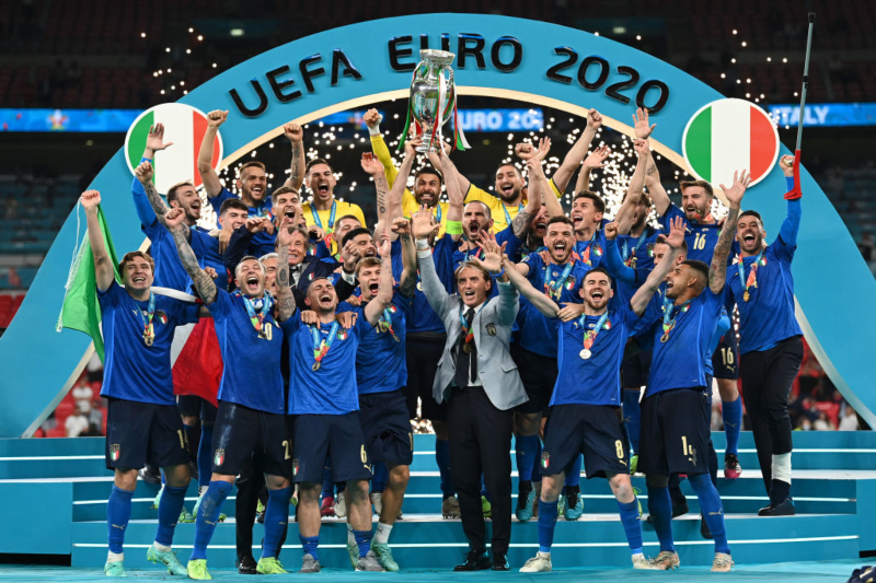 Historic victory for Italy, the Azzurri European champions after 53 years