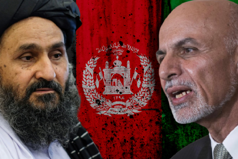 Afghanistan is under Taliban's control as foreign troops scramble to exit Kabul