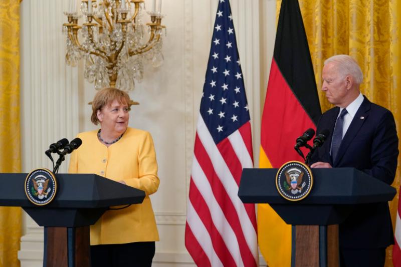 Biden-Merkel Cooperation Can Push Back Russia, Finally