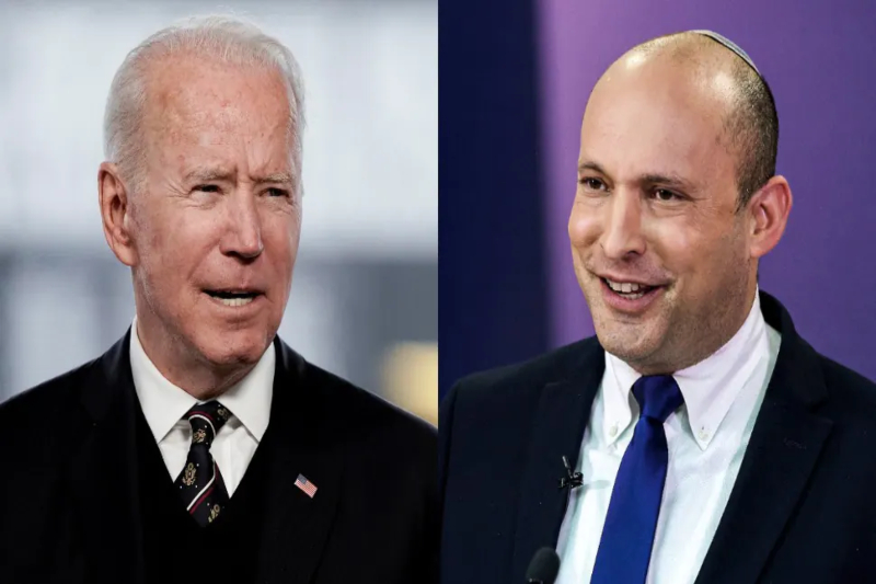 Biden looks to reset ties with Israel in his meeting with Bennett
