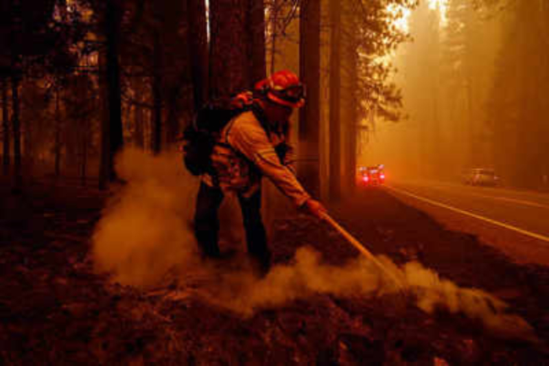 California's Dixie Fire is now the largest wildfire in the U.S.