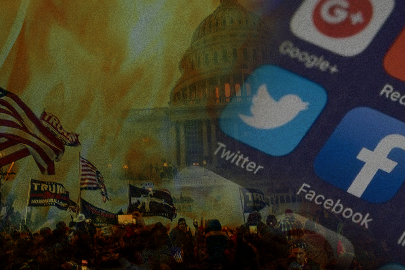 Congressional Committee Seeks Data Over Capitol Attack From Social Media Companies