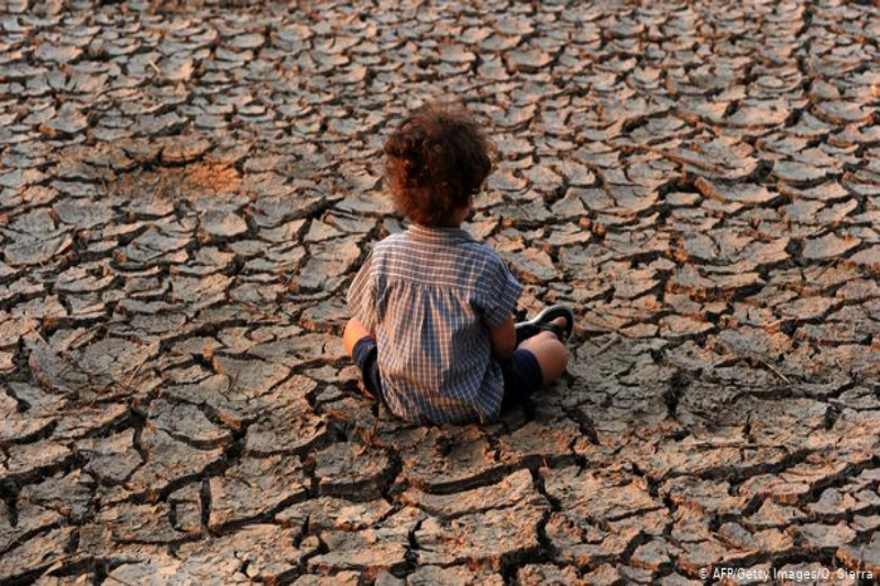 One billion children at risk for the climate